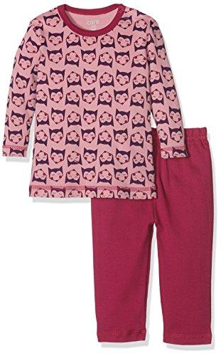 Care Mädchen Zweiteiliger Schlafanzug 4137, Gr. 80, Mehrfarbig (Light rose 550)