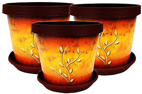 set-of-3-coloured-plant-pots-with-saucer-terracotta-branch-22cm-89inch-terracotta-branch