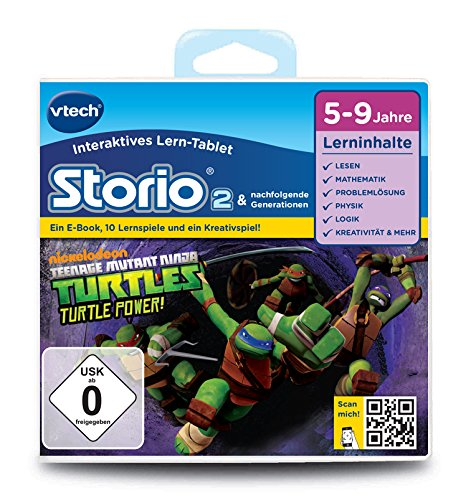 (Vtech 80-231304 - Lernspiel Teenage Mutant Ninja Turtles (Storio 2, Storio 3S))