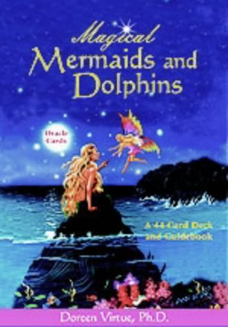 Magical Mermaids And Dolphin Oracle Cards by Virtue PhD, Doreen (July 1, 2004) Cards