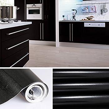 Auralum 5m selbstklebend tapeten rollen refurbished küchenschränke kleiderschrank pvc aufkleber folie möbel schrank tür papier für wandplakate self