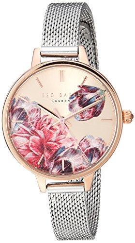 Ladies Womens Two Tone Ted Baker Quartz Battery Watch on Bracelet TE50070001