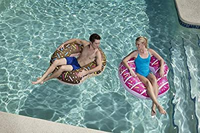 Bestway Inflatable Donut Lounger Tube Float Beach Swimming Pool Toy Lilo Swim
