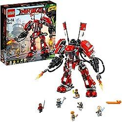 Lego Ninjago 70615 Mech di Fuoco, Multicolore