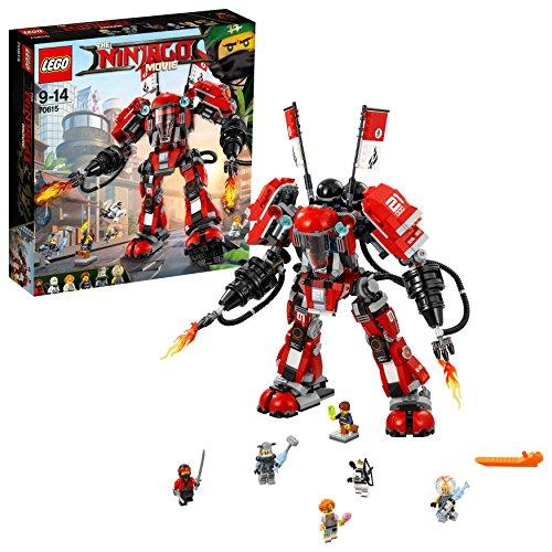 Lego Ninjago 70615 Mech di Fuoco, Multicolore, Modelli/Colori Assortiti, 1 Pezzo