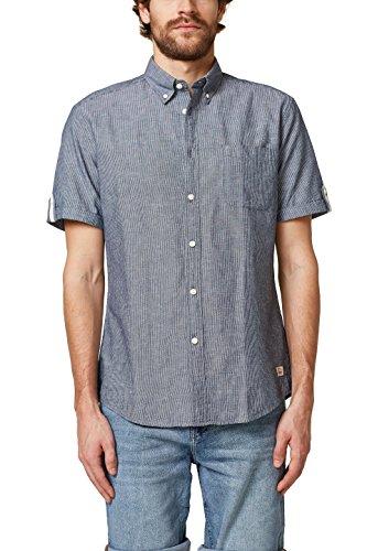 058cc2f007, Camisa para Hombre, Azul (Navy 400), X-Small EDC by Esprit