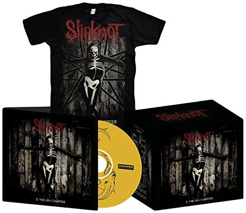 .5: The Gray Chapter (CD + T-Shirt - Small) by Slipknot