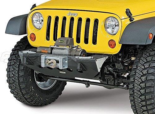 Jeep Wrangler JK 2/4 porta (2007-2014) anteriore antiurto Smittybilt XRC M.O.D, - centrale sezione 4 x 4 Off Road Greggson