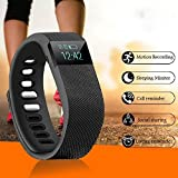 Smart TW64 High Quality Fitness Band Oled Display Smart Tracker Smart Fitness Band Water Proof Band -Phone Call Alert Health Sports Band Fitness Band /Record Sports Data /Sleeping Mode/ Smart Fitness Tracker/ Smart Fitness Band/ Sleep Monitoring/ Calorie