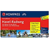 Havel-Radweg - Von Waren an der Müritz über Berlin nach Wittenberge: Fahrradführer mit Routenkarten im optimalen Maßstab. (KOMPASS-Fahrradführer, Band 6015)
