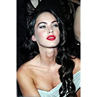 Megan Fox 082 Waterproof Plastic Poster Poster di Plastica Impermeabile - Anti-Fade - Possono utilizzare su Outdoor/Giardino/Bagno