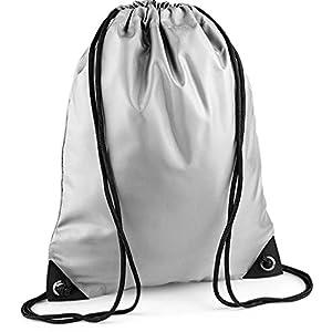 517xIPgyr3L. SS300  - BagBase - Bolso mochila de Sintético para mujer plateado plata Talla única