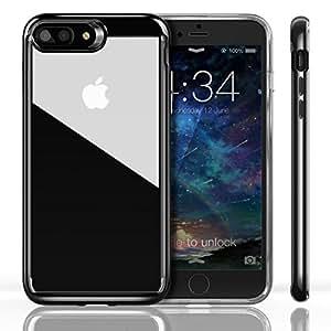 ivapo coque iphone 7 plus transparante en silicone coque iphone 7 plus durable antichoc etui. Black Bedroom Furniture Sets. Home Design Ideas