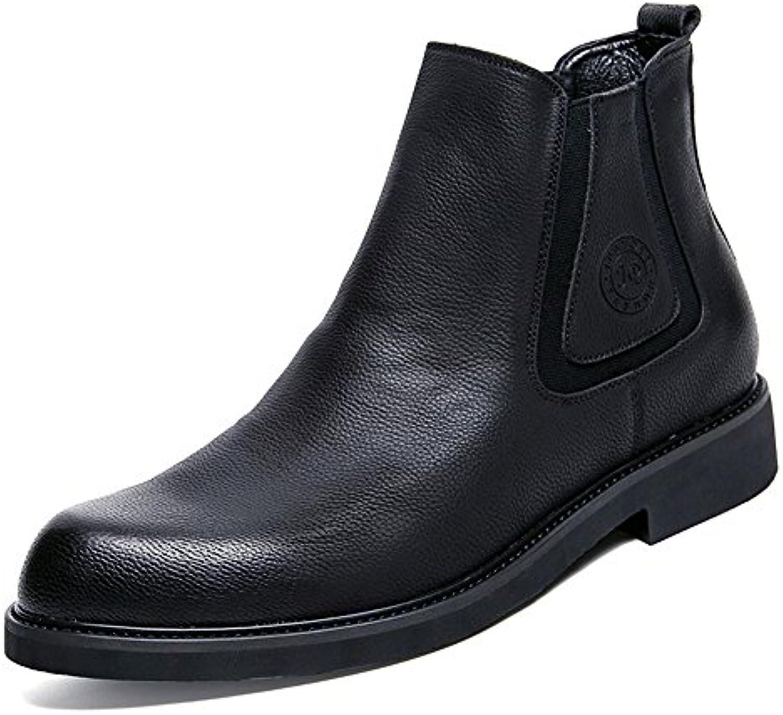 engländer martin stiefel Männer mode  freizeit  chelsea kurze stiefel englisch martin stiefel schwarz 43