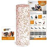 Blackroll Orange Faszienrolle Die Selbstmassagerolle MED 45 cm, 8050310