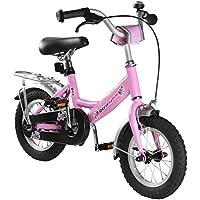 Ultrasport 331100000186 Bicicleta, Niñas, Rosa, 12 Pulgadas