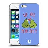 Head Case Designs Birne Herrlich Frucht Soft Gel Hülle für Apple iPhone 5/5s/SE