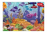 #4: Kidz Valle Underwater 48 Pieces Tiling Puzzles (Jigsaw puzzles, Puzzles for Kids, Floor Puzzles), puzzles for kids age 4 years and above