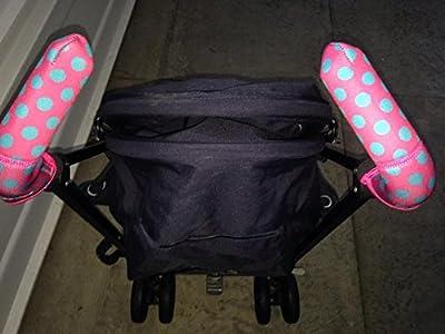 City Grips 201315960Just Black Doble Funda de Mando para carrito