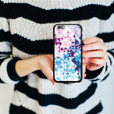 Apple iPhone 5s Housse Étui Protection Coque Pastel Motif Motif CasDur noir
