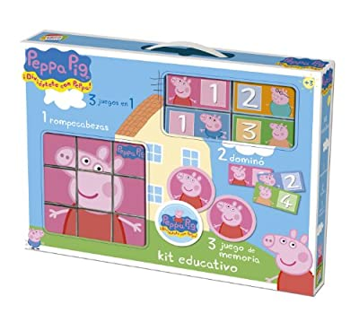 Cefa 88234 - Kit Educativo Peppa Pig de Cefa