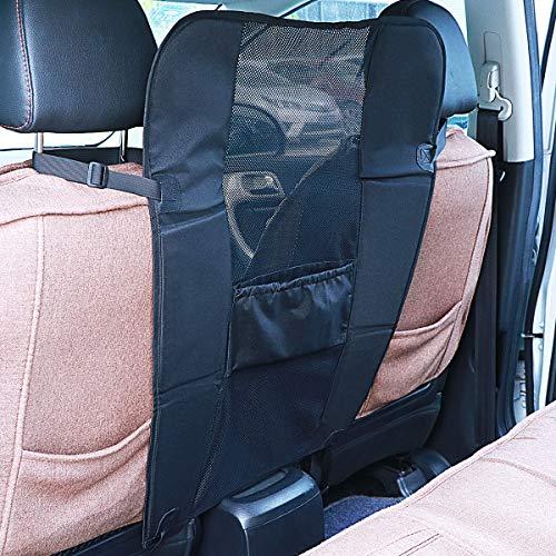UEETEK Barriere für Hund Auto Sicherheitsnetz Haustier Rücksitz Barriere Hundenetz Rücksitzbarriere für Hund/Hündchen/Haustiere - Schwarz