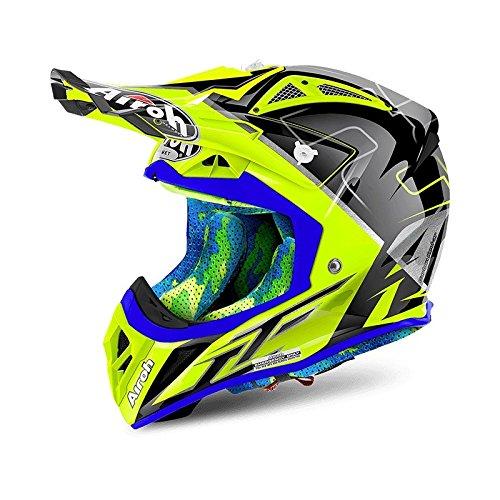Airoh, casco da motocross Aviator 2.2Cairoli Mantova Gloss, taglia: S