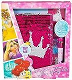 Disney Princess - Journal Set pour Petite Fille Objet Kawaii Agenda Filles Journal de Bord Carnet Con Stylo 10 Couleurs