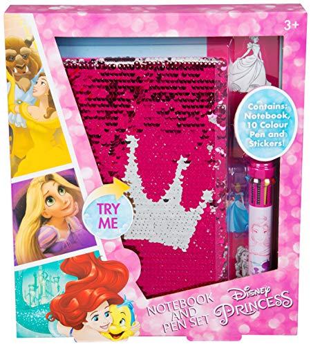 Principesse disney diario per bambine con penna 10 colori diari scuola idee regalo compleanno articoli scuola