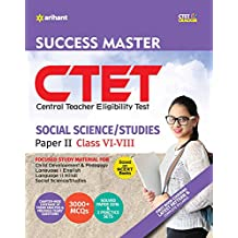 CTET Success Master Science Social/Studies Paper-II  for Class VI-VIII