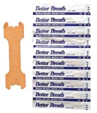 Nasenpflaster Premium - Klein/Mittel (Small/Medium) - Sunglow Better Breathe - Gegen Schnarchen - (100 Stück)