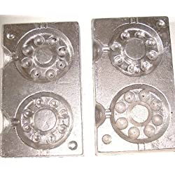TraceAce Tackle 165 And 205G Combined Watch Weight Moulds,Weight Moulds