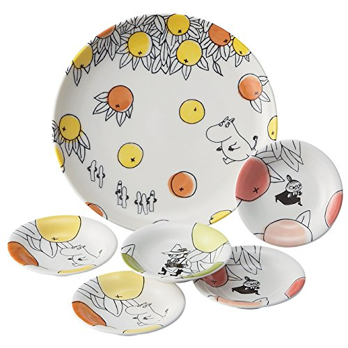 Moomin Citrus Dot Berry Set mm 180-52 yamaka aus Japan - Japan Berry Bowl