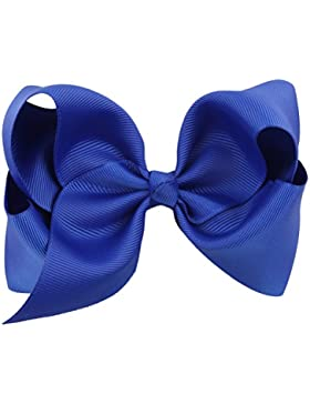 Zhhlinyuan Kids Cute Big Bow tie Hairpins Girls Hair Clips Hair Accessories HC017