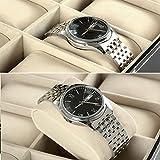 12 Watch Display Box Case Faux Leather Bild 2