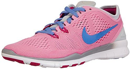 Nike Free 5.0 TR Fit 5 - Zapatillas de Running de Material sintético para Mujer Multicolor Mehrfarbig (Rose/Polar-Pr Platinum-Frbrry) 36.5