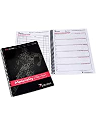 Precision Pro Football Coaching Matchday Planner for All Coaches Size A4 rrp£19 by PRECISION