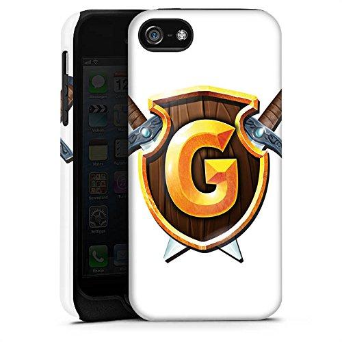 Apple iPhone X Silikon Hülle Case Schutzhülle GommeHD Fanartikel Merchandise Wappen weiß Tough Case matt