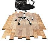 Best Pisos laminados - Office Marshal® – Alfombra protectora de piso, modelo Review