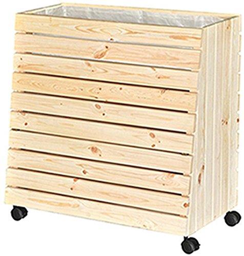 Wagner Système Plate-bande surélevée Green Box, L, bois tendre, 79 x 73,5 x 40/30 cm multicolore