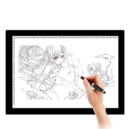 Price comparison product image A4 Light Box LED Touch Modern Illumination Ultra-Slim Art Craft Design Photo Tracing Design Lightbox Light Pad
