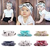 #10: Rrimin Knotted Adjustable Hairband for Baby Girls (6 Pieces)