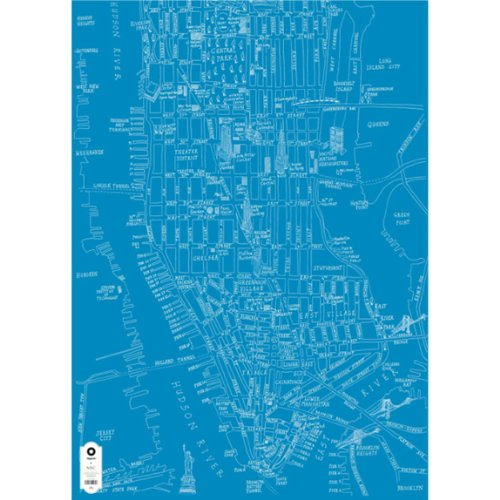 Michael collina mappa Wrap-New York City
