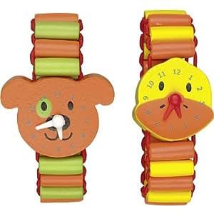 Spiegelburg 21589 il mio primo orologio in legno die for Orologio legno amazon