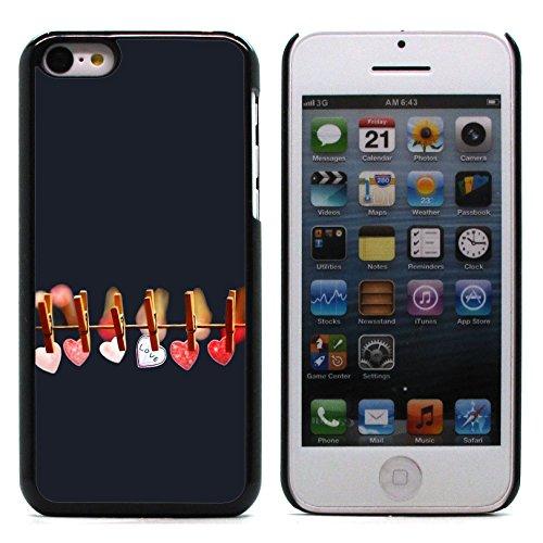 Graphic4You I Will love you Design Harte Hülle Case Tasche Schutzhülle für Apple iPhone 5C Design #8