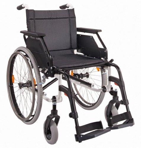 Leichtgewicht-faltrollstuhl (DIETZ Leichtgewicht-Faltrollstuhl CANEO E ohne Trommelbremse Sitzbreite 51 cm)