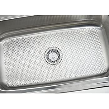 Lakeland Kitchen Sink Protector Mat Smoke Cut To Size