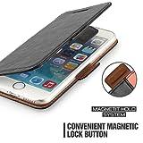 Custodia iPhone 6s - Cover iPhone 6s - Mulbess Custodia In Pelle Con Supporto di Stand Cover Per iPhone 6 6s Custodia Pelle Nero