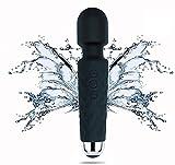 Vibratoren für sie Klitoris und G-punkt mit stoßfunktion, Silikon Dildo Rabbit Vibrator mit 7 Programmen,sexspielzeug für frauen und paare, 100% Wasserdicht, leise