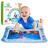 Splashin'kids Inflatable Tummy Time Premium Water mat Infants & Toddlers is The Perfect Fun time Play Activity Center Your Baby's Stimulation Growth